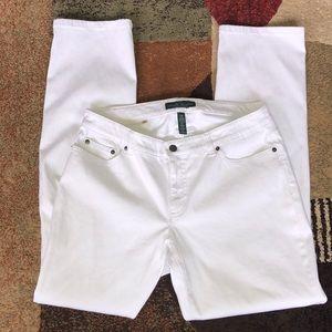 Ralph Lauren modern curvy jeans size 14 W . NWOT